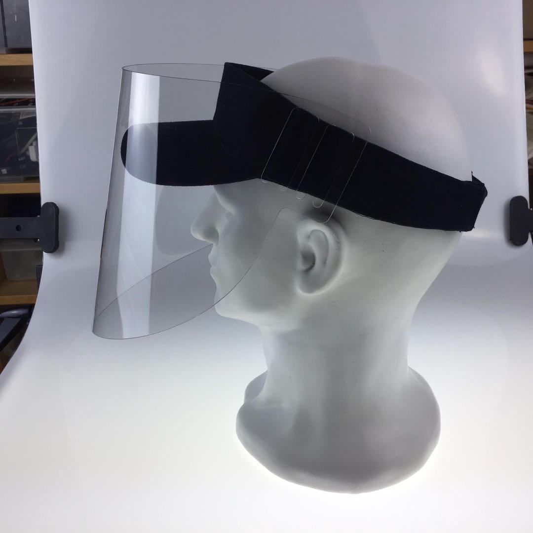Gesichtsschutz Faceshield Tenniskappe mit Visier